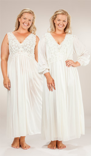 Shadowline Long Gown Size Xs Robe Sets