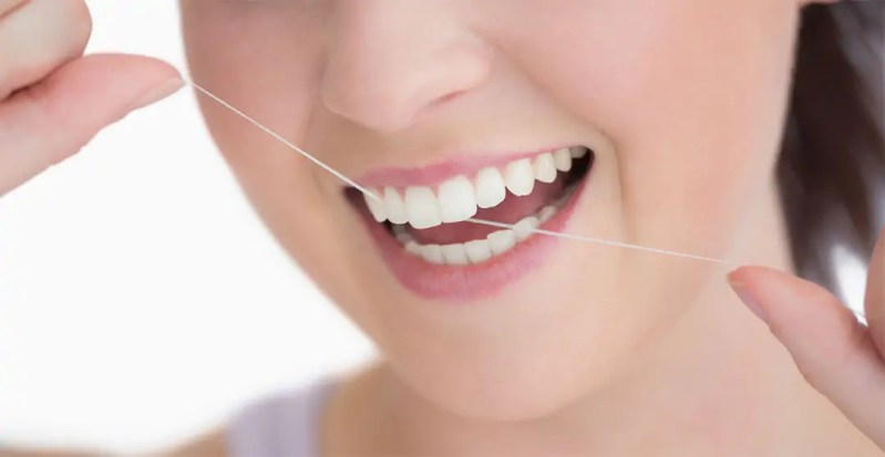 Charlotte NC-Dentist-Flossing