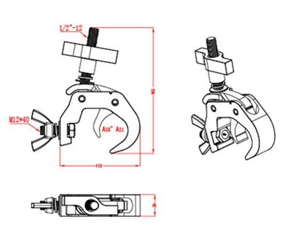 Aluminium Trigger Clamp