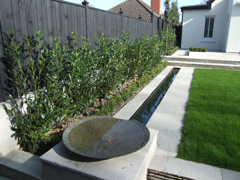 Creative design features for your garden. | Serenity ... on Modern Backyard Water Feature id=96131