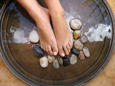 pés odor tirar caseira