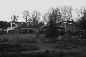 Maison en Noir & blanc - Serge Ducout - Photographie