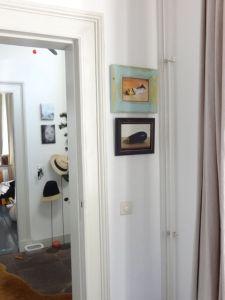 Interieur schilderijen Aubergine en Tube verf nr2, olieverf op paneel, Serge de Vries