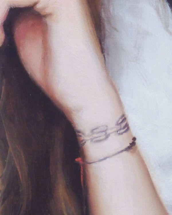 Detail4 Ema nr3, olieverf op paneel, 16 x 13 cm, Serge de Vries