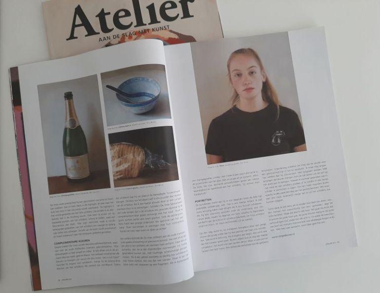 Magazine Atelier juli 2021, interview Serge de Vries, pagina 3-4