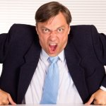 El mal comportamiento de un jefe