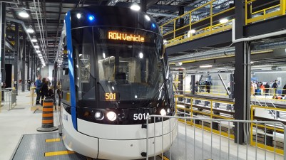 The First Light Train ION in Waterloo Show