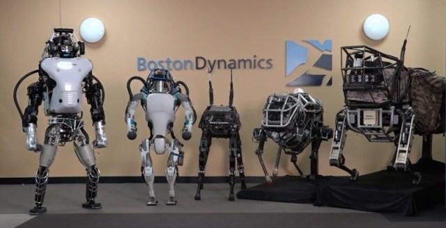 I robot della nuova serie della società di Google Boston Dynamics