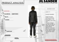 JIL SANDER Look 4 analisys