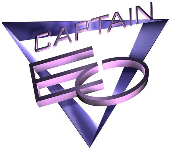 Marchio in 3D di Captain EO