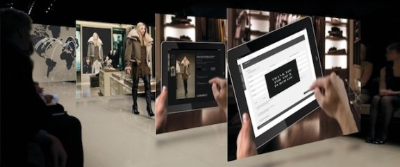 iPad negli store Burberry