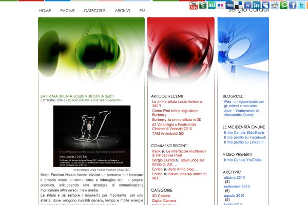 Old HP Blog sergiocuradi.com