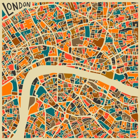 LONDON - JAZZBERRY BLUE