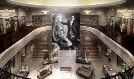 Videowall Burberry Flagship Store Regent Street 121 London