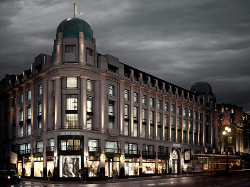 Burberry Flagship Store Regent Street London