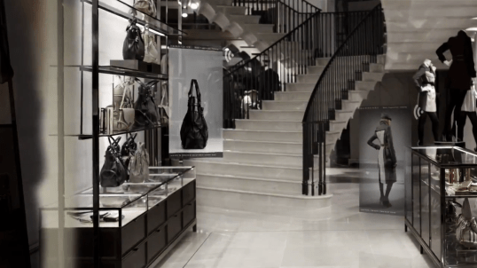 Informazioni interattive - Burberry Flagship Store London