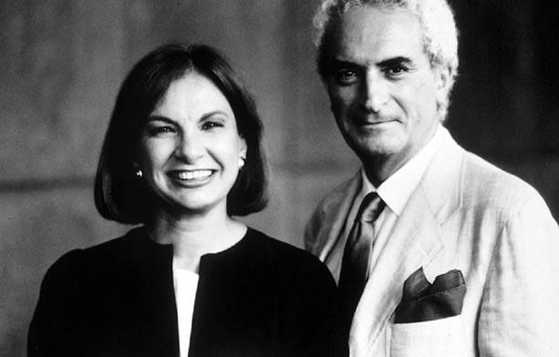 Lella e Massimo Vignelli