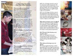 Collin College Fine Art Department Brochure