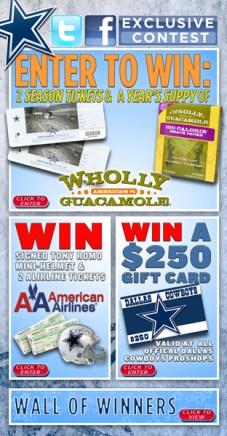 Dallas Cowboys Facebook Contest Page