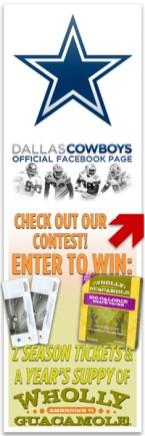 Dallas Cowboys Facebook Contest Avatar