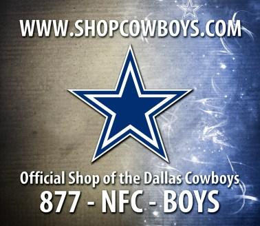 Dallas Cowboys Box Insert