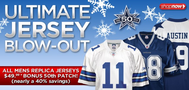 Ultimate Jersey Blow Out Ad