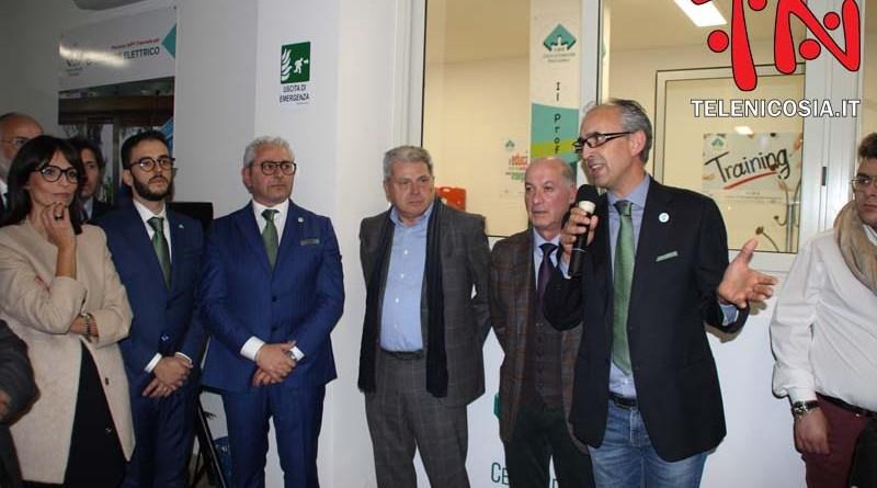 Aumenta l'offerta formativa di qualità con l'inaugurazione del C.I.R.S. di Nicosia – VIDEO