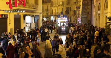 Carnevale a Nicosia, animata e festosa la prima sfilata domenicale – FOTO & VIDEO