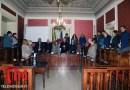 Il vescovo Salvatore Muratore in visita al consiglio ed alla giunta comunale di Nicosia – VIDEO