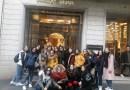 """Il corso Moda dell'IIS Alessandro Volta di Nicosia in visita al """"Fashion Week"""" di Milano"""