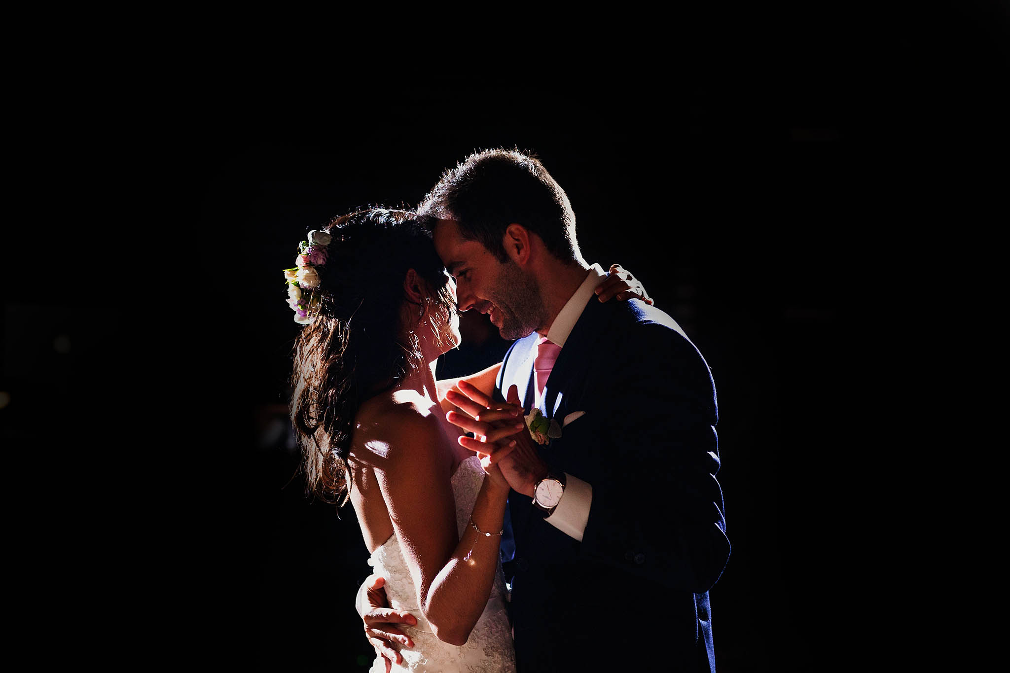 First bride and groom dance