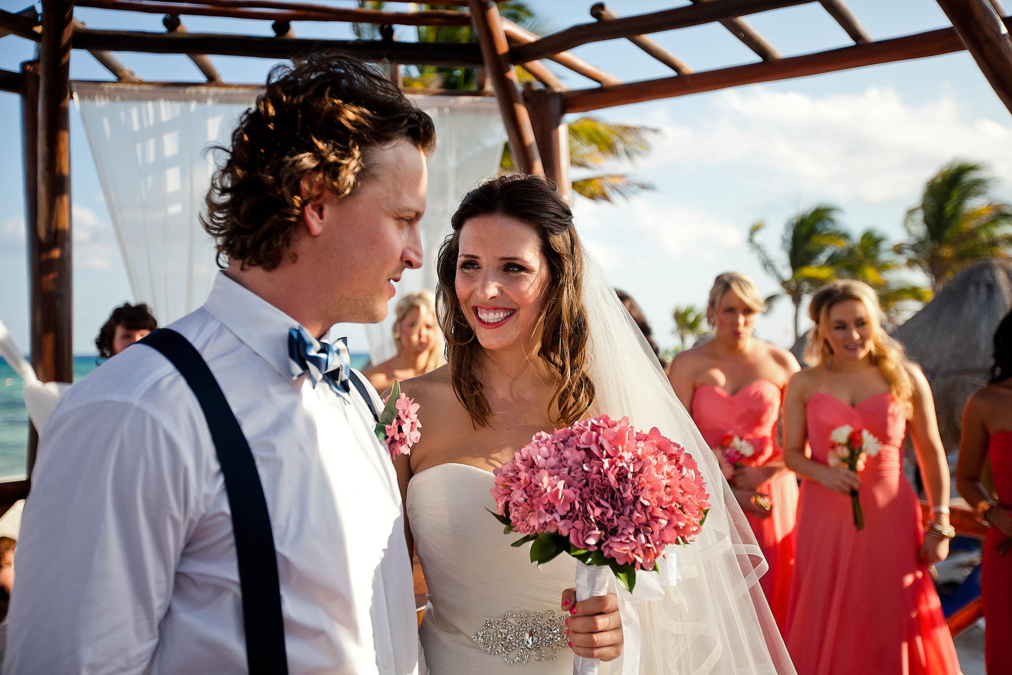 Canadian weddings in Tulum