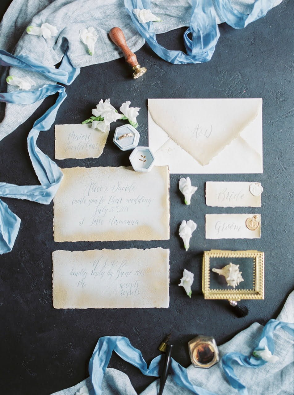 Wedding Stationery K.G. Calligraphy