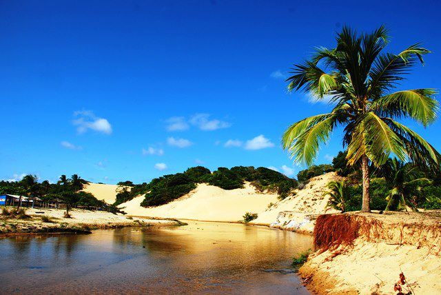 Lagoa Redonda Pirambu