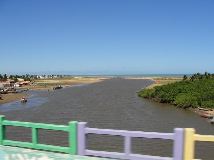 Praia de Pirambu Sergipe