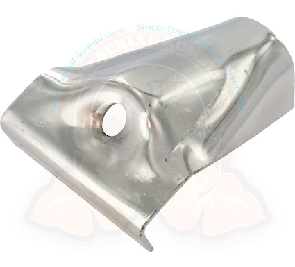 polished stainless steel spare clamp for westfalia style roof rack each