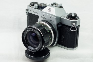 Pentax Spotmatic F film camera