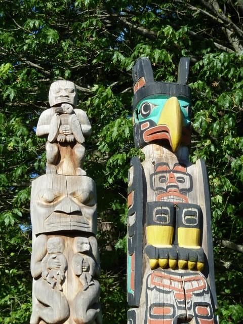 deux totems du stanley park