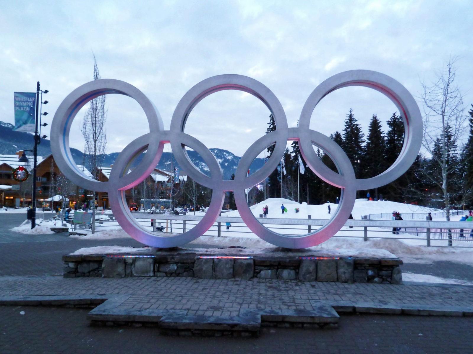whistler village olympique