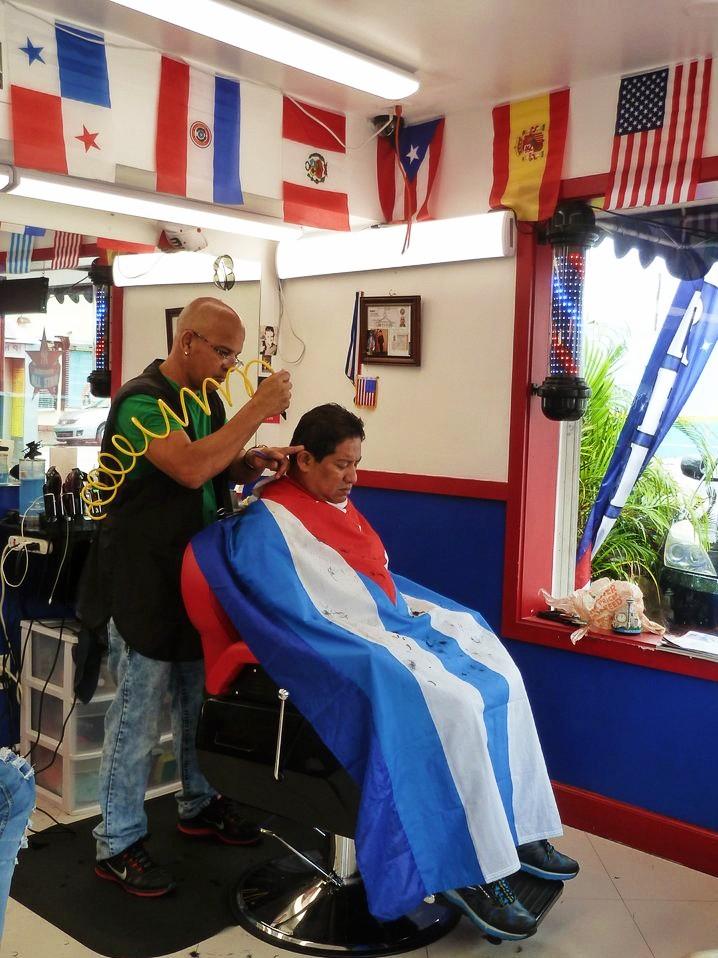 salon de coiffure latino Little Havana