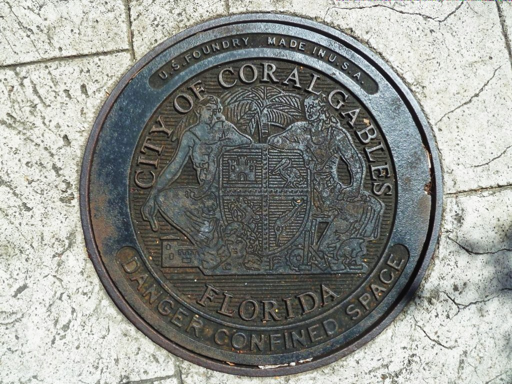 bouche d'egout Coral Gables