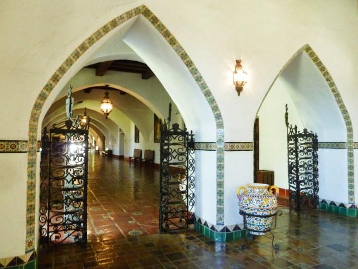 Interieur du County Courthouse Santa Barbara