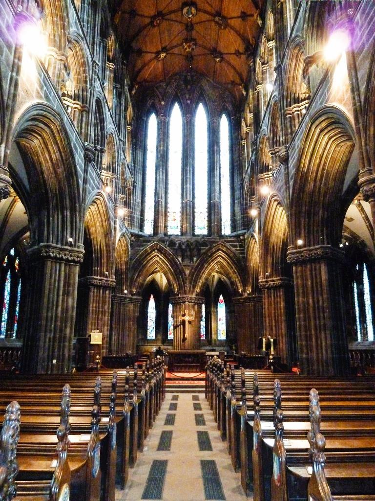Glasgow le coeur de la cathédrale