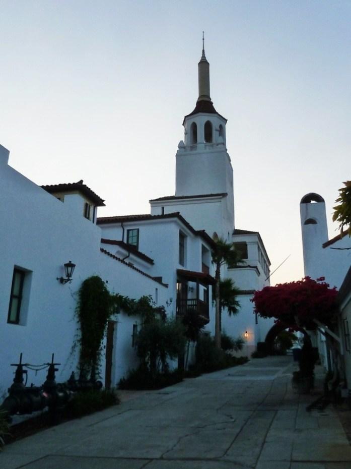 rue typique de santa barbara
