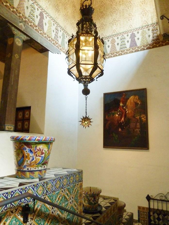 décoration très espagnole à santa barbara county courthouse