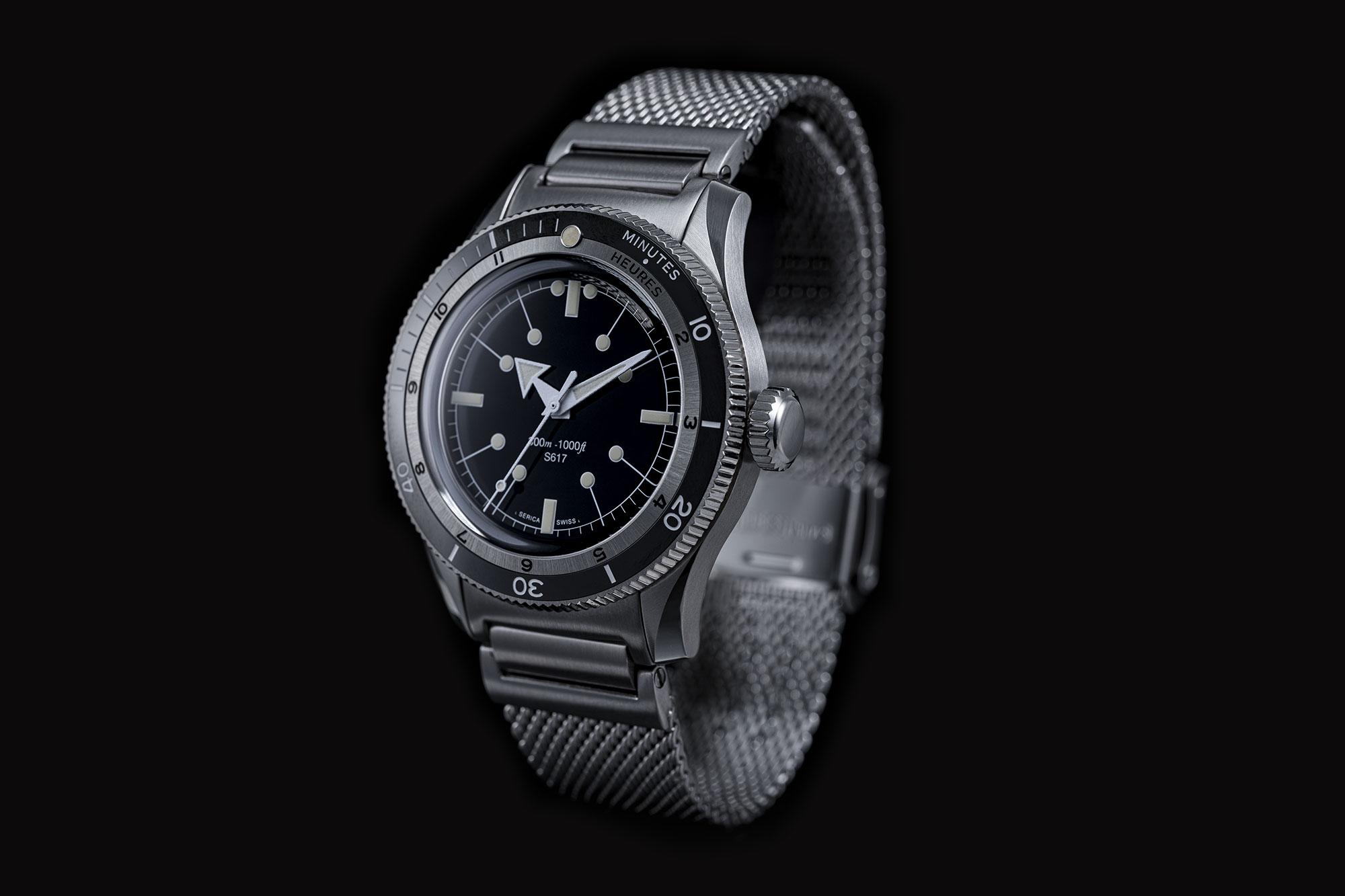 Serica 5303-1 Black Side