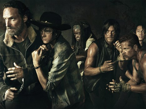 the walking dead record audiencia quinta temporada