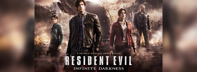 Resident Evil: Oscuridad infinita (Temporada 1) HD 720p Latino (Mega)