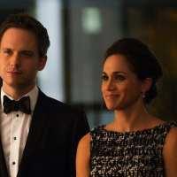 Suits-Cast bei der Royal Wedding