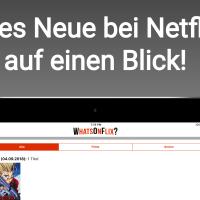 WhatsOnFlix? - Neue News-App für Netflix